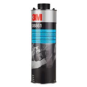 Unterbodenschutz 3M 08861 für Auto (Dose, Inhalt: 1l, nicht überlackierbar, dauerelastisch, schwarz)