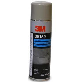Steinschlagschutz 3M 08159 für Auto (Sprühdose, überlackierbar, Inhalt: 500ml, grau)