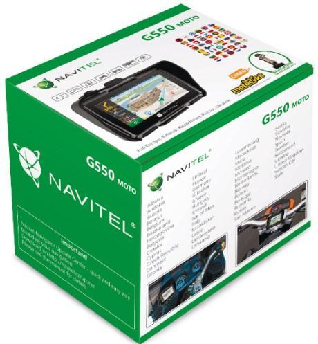Navigationssystem NAVITEL NAVG550 8594181740098