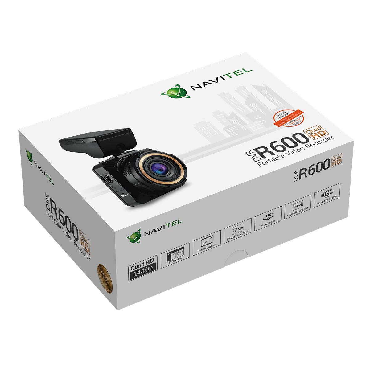Caméra de bord NAVITEL NAVR600QHD connaissances d'experts