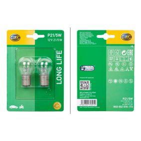 Glühlampe, Blinkleuchte 8GD 002 078-173 CLIO 2 (BB0/1/2, CB0/1/2) 1.5 dCi Bj 2006