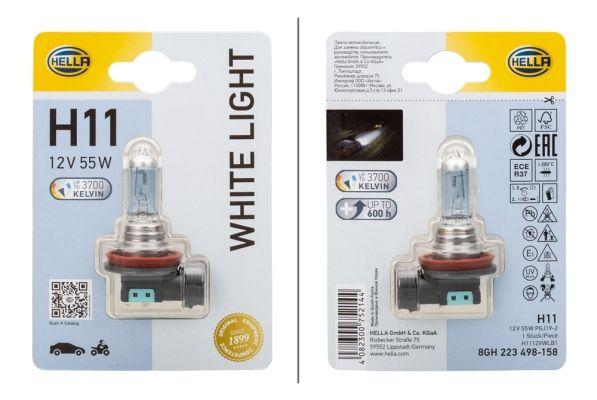Lámpara, faro antiniebla 8GH 223 498-158 HELLA H1112VWLB1 en calidad original