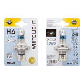 Glühlampe, Hauptscheinwerfer 8GJ 223 498-128 323 P V (BA) 1.3 16V Bj 1998