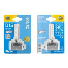Glühlampe, Hauptscheinwerfer D1S (Gasentladungslampe), Pk 32 d-2, 85V, 35W 8GS 009 028-113 VW GOLF, PASSAT, TOURAN