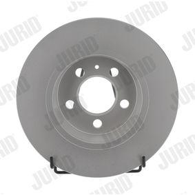 Bremsscheibe Bremsscheibendicke: 10mm, Lochanzahl: 5, Ø: 272mm mit OEM-Nummer 6R0 615 601