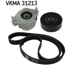 Keilrippenriemensatz VKMA 31213 Golf 4 Cabrio (1E7) 1.6 Bj 2000