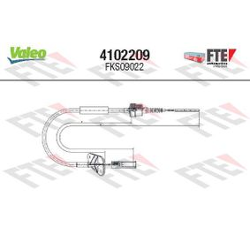 Clutch Cable 4102209 PANDA (169) 1.2 MY 2012
