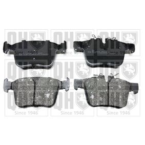 Brake Pad Set, disc brake Height 1: 56,3mm, Height 2: 59,8mm, Thickness: 16,2mm with OEM Number LR-123595