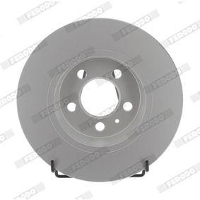 Bremsscheibe Bremsscheibendicke: 10mm, Lochanzahl: 5, Ø: 272mm mit OEM-Nummer 6R0 615 601 B