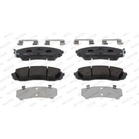 Комплект спирачно феродо, дискови спирачки височина 1: 64мм, дебелина: 18,7мм с ОЕМ-номер SU001 A6 136