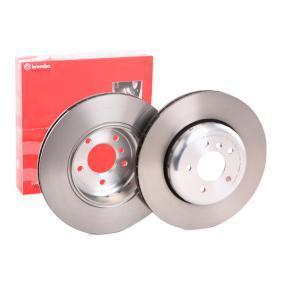Bremsscheibe Bremsscheibendicke: 24mm, Lochanzahl: 5, Ø: 345mm mit OEM-Nummer 34216763827