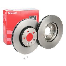 Bremsscheibe Bremsscheibendicke: 24mm, Lochanzahl: 5, Ø: 276mm mit OEM-Nummer 2Q0615301H