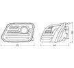 OEM Hauptscheinwerfersatz LEDHL107-BK von OSRAM für VW