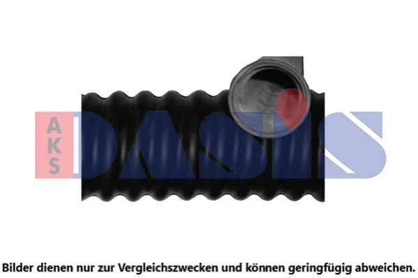 AKS DASIS  881652N Kühlerschlauch Länge: 550mm, Länge: 550mm