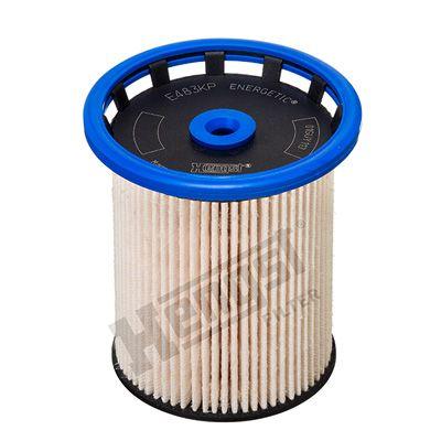 HENGST FILTER  E483KP Fuel filter Height: 100mm
