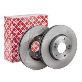 Bremsscheibe Bremsscheibendicke: 26mm, Ø: 280,0mm mit OEM-Nummer 51712-2C-000