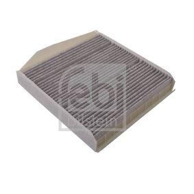 Filter, Innenraumluft Länge: 279mm, Breite: 242,0mm, Höhe: 48mm mit OEM-Nummer 30630755