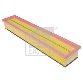 Luftfilter Länge: 454mm, Breite: 89,0mm, Höhe: 56mm, Länge: 454mm mit OEM-Nummer C2S 36774