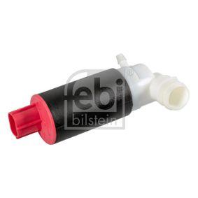 Waschwasserpumpe, Scheibenreinigung Spannung: 12V, Anschlussanzahl: 2 mit OEM-Nummer 76806S6DE11