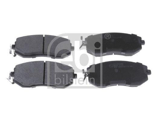 FEBI BILSTEIN  116326 Brake Pad Set, disc brake Width: 56,8mm, Thickness 1: 16,8mm