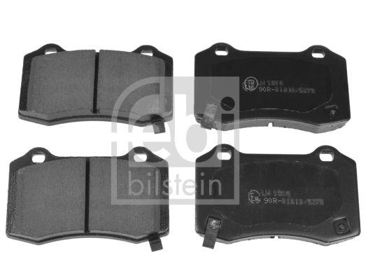 FEBI BILSTEIN  116382 Bremsbelagsatz, Scheibenbremse Breite: 69,1mm, Dicke/Stärke 1: 14,6mm