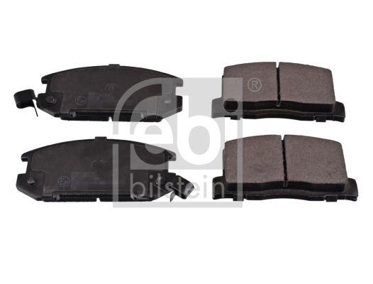 FEBI BILSTEIN  116383 Bremsbelagsatz, Scheibenbremse Breite: 47,0, 47,2mm, Dicke/Stärke 1: 15,5, 16mm