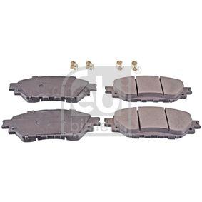 FEBI BILSTEIN  116421 Kit de plaquettes de frein, frein à disque Largeur: 56,1mm, Épaisseur 1: 15,6mm