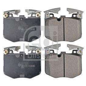 Bremsbelagsatz, Scheibenbremse Breite: 94,7mm, Dicke/Stärke 1: 18,8mm mit OEM-Nummer 3411 6888 457
