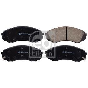 Bremsbelagsatz, Scheibenbremse Breite: 63,6mm, Dicke/Stärke 1: 17,5mm mit OEM-Nummer 58101 4DA00