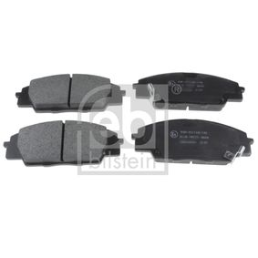 Brake Pad Set, disc brake Width: 52,5mm, Thickness 1: 16mm with OEM Number 45022S2AE50
