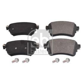 FEBI BILSTEIN  170383 Brake Pad Set, disc brake Width: 53,5mm, Thickness 1: 16,5mm