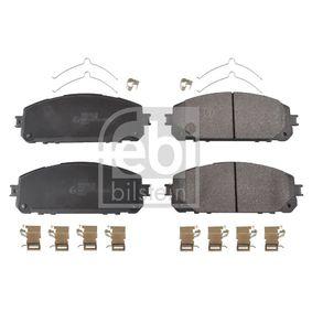 Bremsbelagsatz, Scheibenbremse Breite: 62,0mm, Dicke/Stärke 1: 18,2mm mit OEM-Nummer 68212327AB