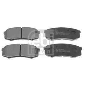 Bremsbelagsatz, Scheibenbremse Breite: 44,1mm, Dicke/Stärke 1: 15,5mm mit OEM-Nummer 46 05A 458