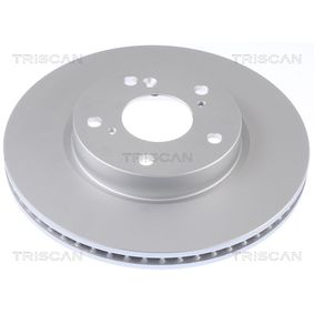 Brake Disc Brake Disc Thickness: 23mm, Num. of holes: 5, Ø: 282mm with OEM Number 45251TBAA00