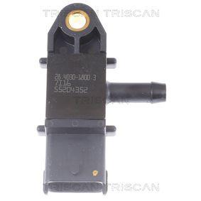 Sensore, Pressione gas scarico con OEM Numero 51 792 301