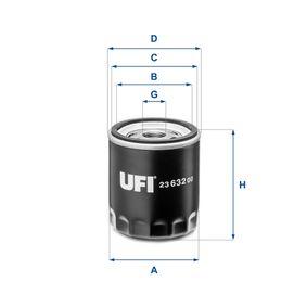 Ölfilter Ø: 76mm, Außendurchmesser 2: 71mm, Innendurchmesser 2: 62,5mm, Höhe: 85,5mm mit OEM-Nummer 31330050