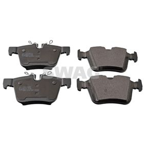 Brake Pad Set, disc brake Width: 56,1, 59,8mm, Thickness 1: 15,4mm with OEM Number LR-123595