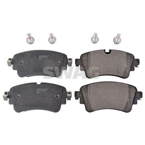 Brake Pad Set, disc brake Width: 59,1mm, Thickness 1: 16,6mm with OEM Number 8W0 698 451 T