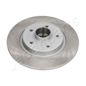 Bremsscheibe Bremsscheibendicke: 10mm, Lochanzahl: 5, Ø: 264mm mit OEM-Nummer 09 11 7772