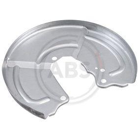 Splash Panel, brake disc 11145 PUNTO (188) 1.2 16V 80 MY 2000
