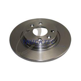 Bremsscheibe Bremsscheibendicke: 12mm, Lochanzahl: 4, Ø: 259mm mit OEM-Nummer A 453 420 0000