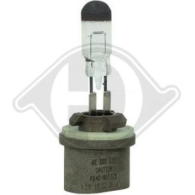 Bulb, headlight H27W/1, PG13, 27W, 12V LID10077 HYUNDAI i30, ix35, SANTA FE