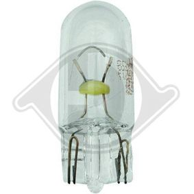 Bulb, interior light W5W, W2,1x9,5d, 5W, 12V LID10133 MERCEDES-BENZ C-Class, E-Class, GLA