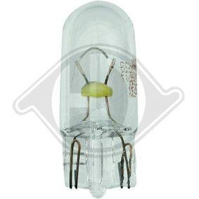 Bulb, interior light W5W, W2,1x9,5d, 5W, 12V LID10133 FORD FOCUS, FIESTA, MONDEO