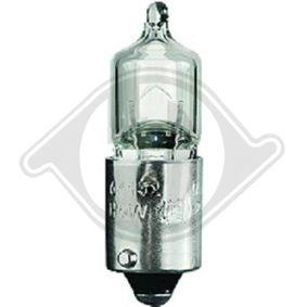 Glühlampe, Schlussleuchte H6W, BAX9s, 12V, 6W LID10215