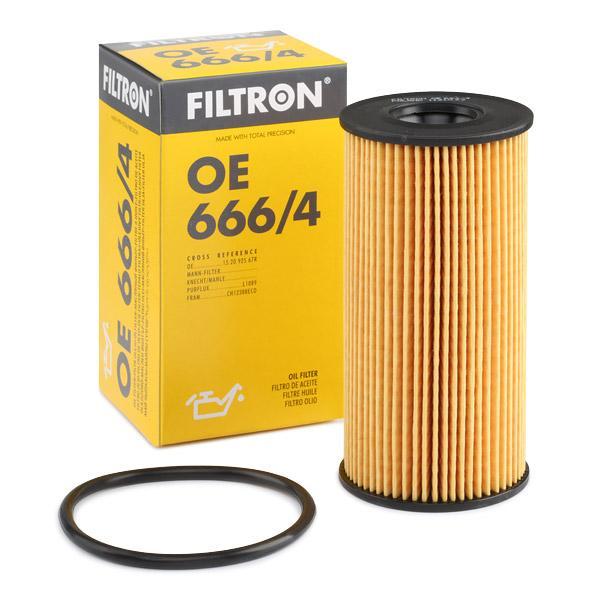 FILTRON  OE 666/4 Ölfilter Innendurchmesser 2: 23,5mm, Innendurchmesser 2: 21,5mm, Höhe: 112,5mm