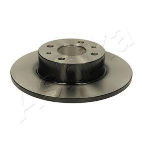 Bremsscheibe Bremsscheibendicke: 14mm, Lochanzahl: 4, Ø: 257mm mit OEM-Nummer 82434169