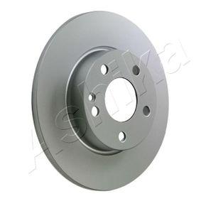 Bremsscheibe Bremsscheibendicke: 12mm, Lochanzahl: 5, Ø: 276mm mit OEM-Nummer A 169 421 0012