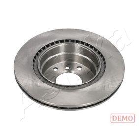 Bremsscheibe Bremsscheibendicke: 10mm, Lochanzahl: 5, Ø: 264mm mit OEM-Nummer 09117772