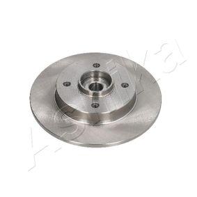 Disco de travão Espessura do disco de travão: 9mm, N.º de furos: 4, Ø: 249mm com códigos OEM 42 49 34
